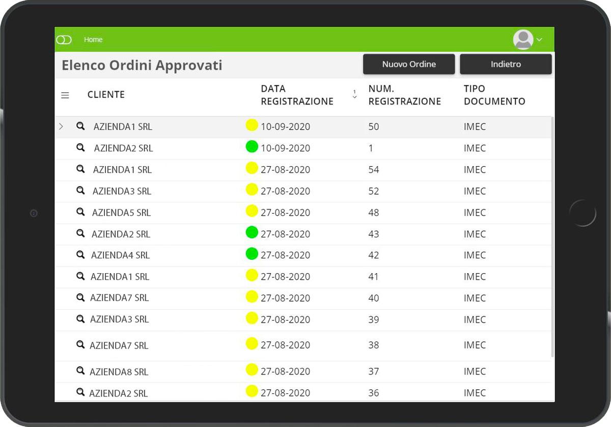 CRM Lite tablet